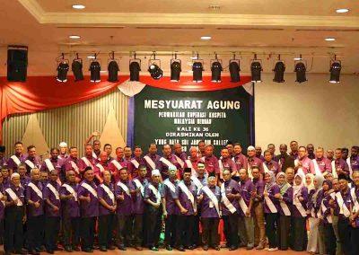 Mesyuarat Agung Tahunan KOSPETA Ke 37 - Pemimpin dan Perwakilan