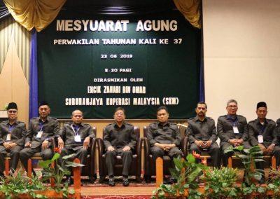 Mesyuarat Agung KOSPETA Ke 37 - Barisan Kepimpinan Tertinggi (ALK)