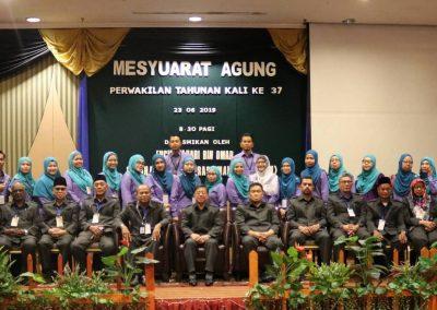 Mesyuarat Agung KOSPETA Ke 37 -Pemimpin Tertinggi dan Pengurusan