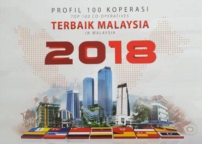 Majlis Perasmian Profil 100 Koperasi terbaik Malaysia dan Wilayah Persekutuan 2018-4