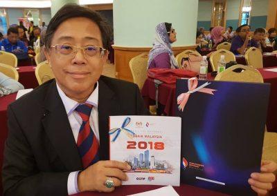 Majlis Perasmian Profil 100 Koperasi terbaik Malaysia dan Wilayah Persekutuan 2018-Datuk Azih