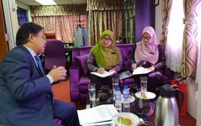 Wawancara Pegawai MKM Bersama YBhg. Datuk Azih Hj. Muda